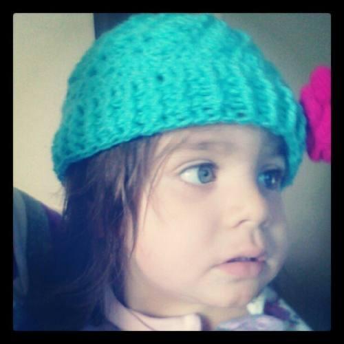 En venta: Gorro A Crochet Para Bebé Y Para Niña