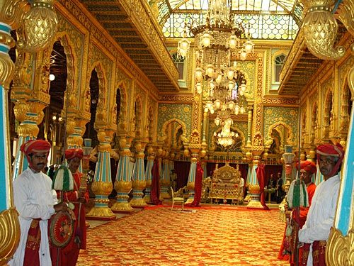 Mysore Palace Interior 4 Most Famous Amp Beautiful Palaces