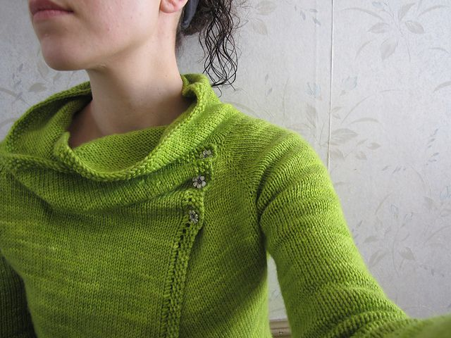 Ravelry: Project Gallery for Clarity Cardigan pattern by Gretchen Ronnevik