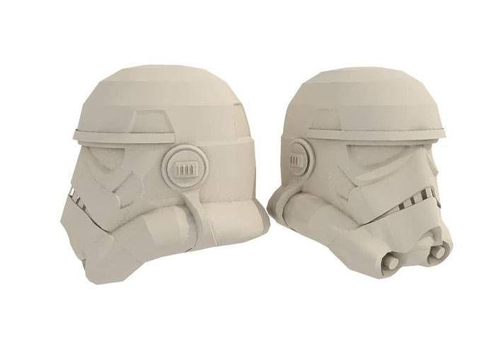 stormtrooper helmet with eva foam pepakura projects to try pinterest helmets. Black Bedroom Furniture Sets. Home Design Ideas