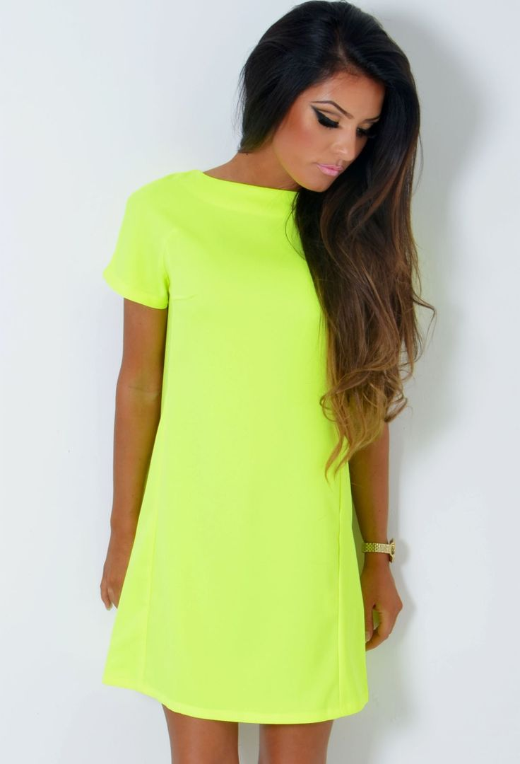 http://www.pinkboutique.co.uk/tenishia-neon-yellow-cut-out-bow-back-tunic-dress.html