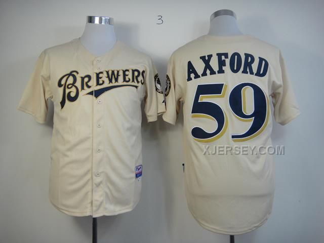 reputable site b75a7 4996d milwaukee brewers 51 michael gonzalez yellow jersey