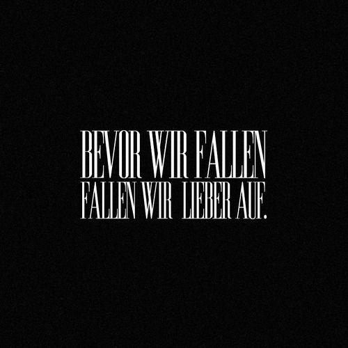 'Bevor wir fallen, fallen wir lieber auf!' - Die fantastischen Vier ~