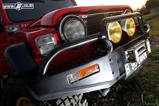 MODIFICATION DAIHATSU TAFT F50 1980 'GULALI TURBO' | dosop