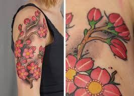 Bildergebnis für japanische kirschblüten tattoo