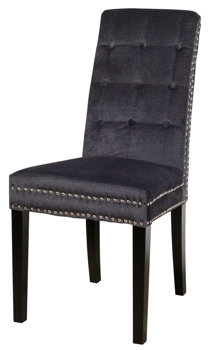 Studded dining chairs from urban barn for the home for Studded dining room chairs