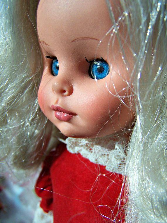 Vintage Toy, Italian Fashion Doll , L. Furga Made in Italy Doll, Luigi Furga Doll Company 1960s via Etsy