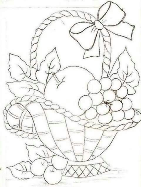 65 best Embroidery - FRUIT \ VEGGIES images on Pinterest Dish - copy coloring pages of vegetables