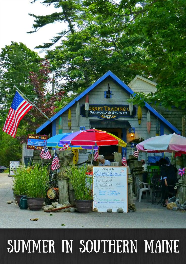 Visiting Southern Maine in Summer. With its rugged coast, seafood, and colorful characters, Maine has many wonderful things to offer. But my favorite time to visit New England has to be summer. Find out why @ventursts
