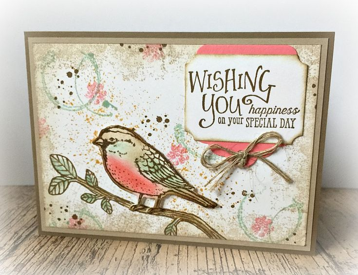 Stampin' Up! Best Birds, Touches of Texture, Timeless Texure, Better Together