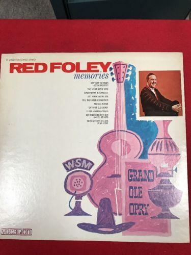 Red Foley - Memories - LP - Vocalion- 1971