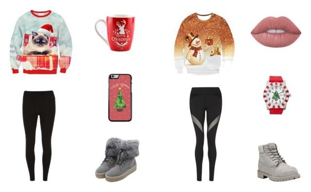 Bez tytułu #77 by wiki208 on Polyvore featuring moda, Michi, Dorothy Perkins, Timberland, WithChic, Kim Rogers and Lime Crime