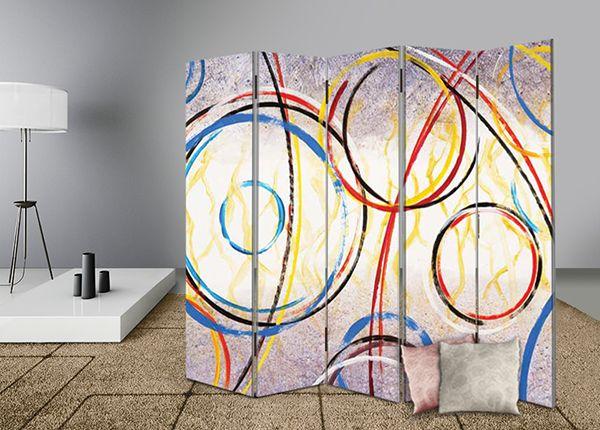 Διακοσμήστε και διαχωρίστε με στυλ το χώρο σας με διακοσμητικά παραβάν #digiwall από την κατηγορία ΕΡΓΑ ΤΕΧΝΗΣ : Κύκλοι