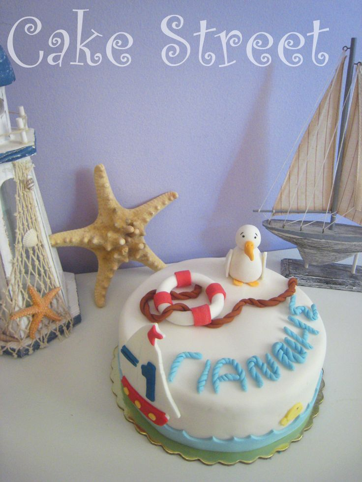 Seagull Cake!