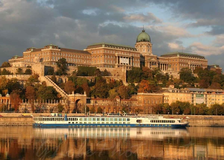 River cruise on the Danube. #Budapest #Danube #Hungary #Europe #travel #trip #ship #castle