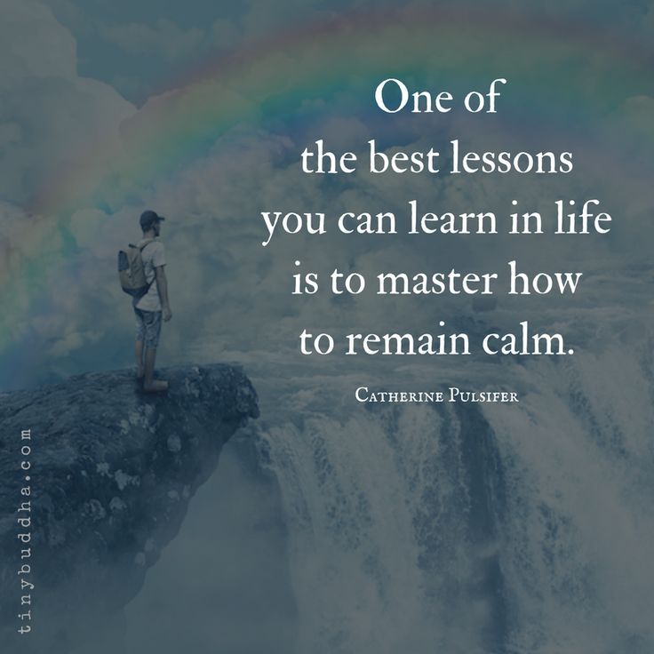 Definitely need to work on this one!!! #calm