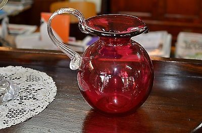 Coloured Blown Glass Pitcher | Other Antiques, Art & Collectables | Gumtree Australia Moreland Area - Brunswick East | 1040916136