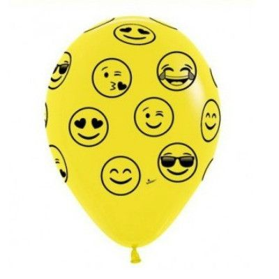 Helium Filled Emoji Balloon