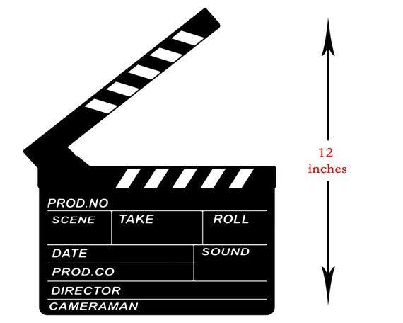 Movie Clapperboard Svg Film Clapper Board Svg Film Clapboard Film Making Movie Scene Board Cinema Clipart Movie Svg Digital Download Movie Scenes Clip Art Filmmaking