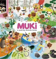 Pewnego dnia miś Muki oznajmia swoim przyjaciołom, że wyrusza w podróż dookoła świata. W tej podróży przemierza wiele krajów i kontynentów. Odwiedza Laponię, Grecję, Burkina Faso, Madagaskar, Indie, Chiny, Australię, Japonię, Peru i Stany Zjednoczone....