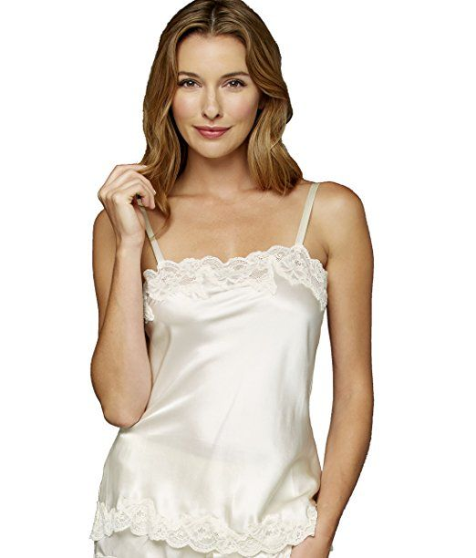 5540d060209c5 Julianna Rae Women s 100% Silk Camisole Top