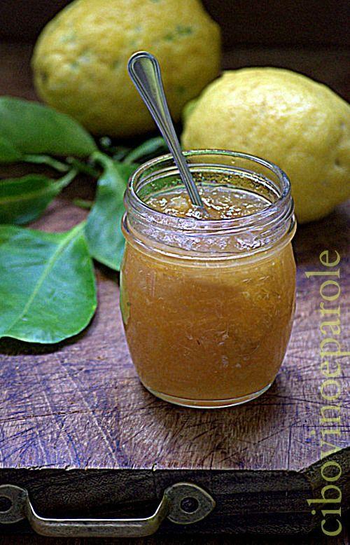 Marmellata di limoni  - Lemon marmalade