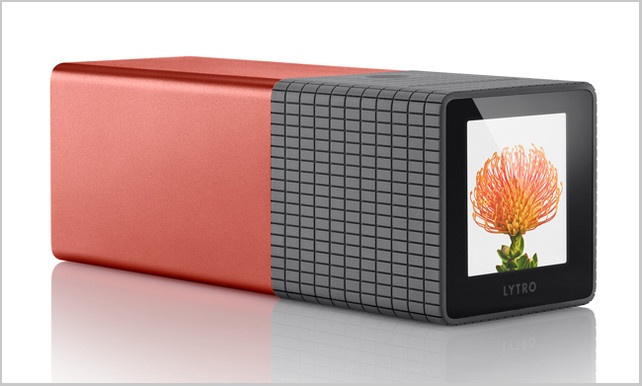 Lytro. Not only the tech, the picture result, but also the design is striking.