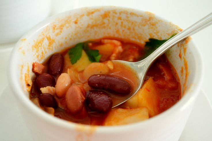 Magic Bean stew inspired by Jack and the Beanstalk