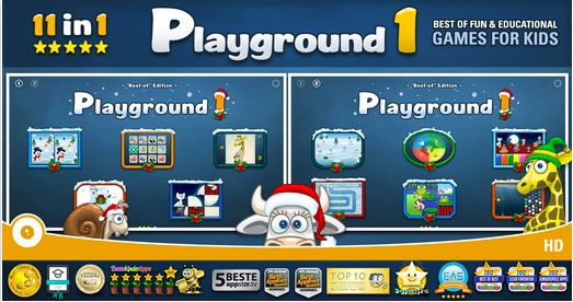 Check the app: Playground 1 – 12 Fun & Educational Animal Games for Toddlers and Children.  Lots of activities and options. Simple illustrations. Ease of use. No distracting elements for #kids