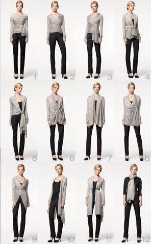 Cozy é uma peça criada pela DKNY que pode ser um sweater, uma blusa, uma echarpe. Enfim, tem 1001 utilidades. Ou melhor, 14. No site da DK...