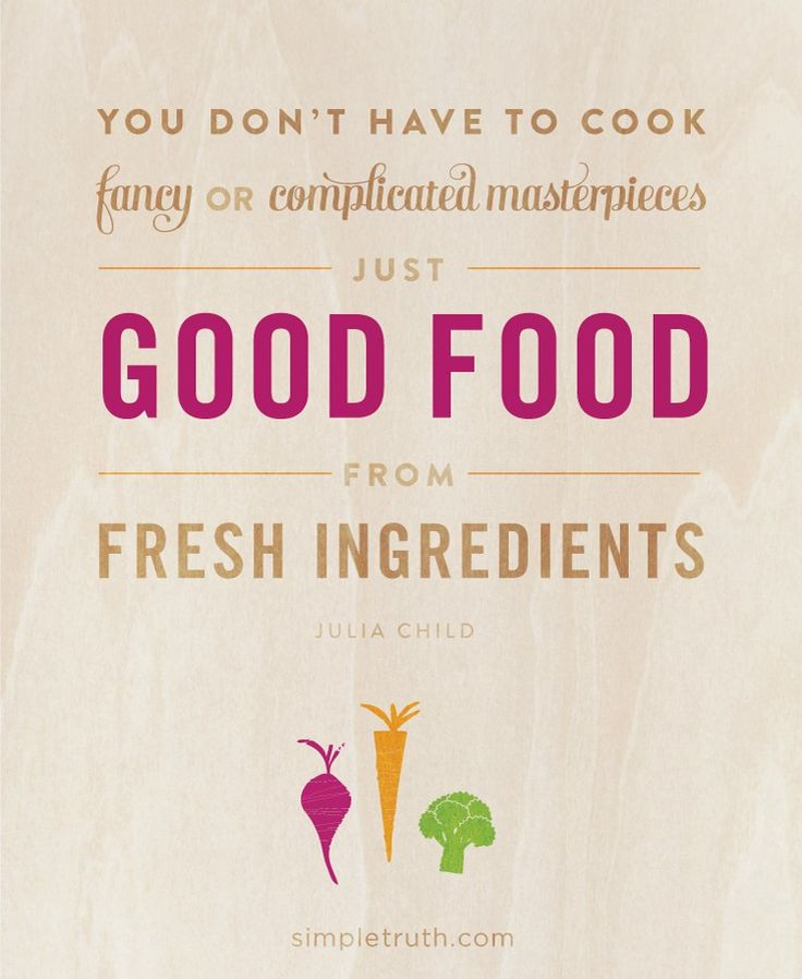 Cook Good Food Quotes