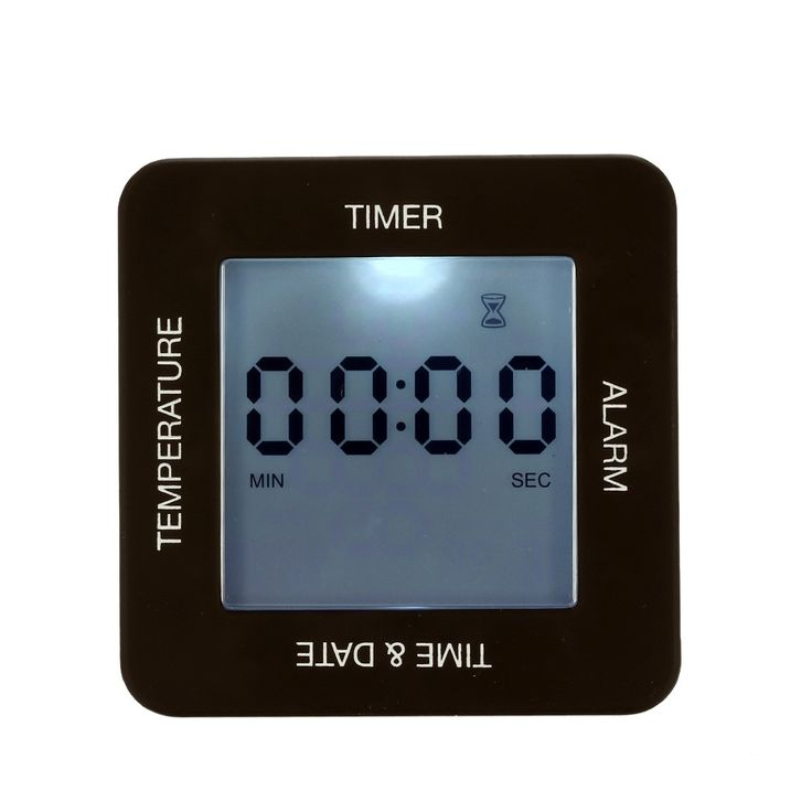 Only US$5.99, Multi-functional Digital 4 Sided Rotating Alarm Clock Timer - Tomtop.com