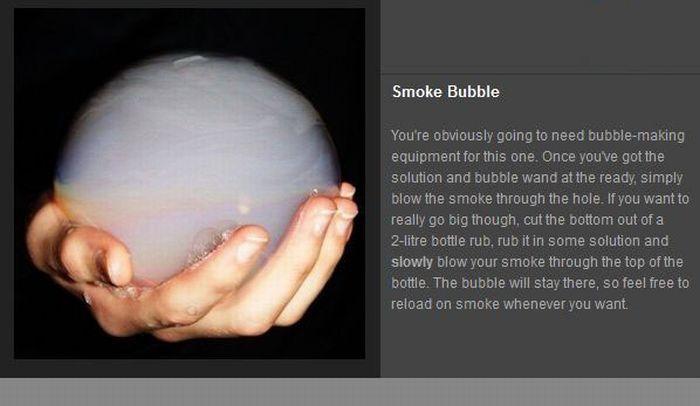 Cigarette Smoke Tricks