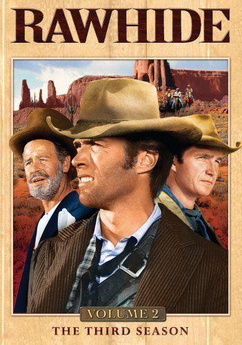 Clint Eastwood, Paul Brinegar and Eric Fleming in Rawhide (1959)