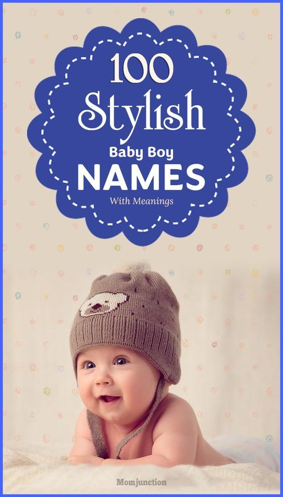 100 Modern And Stylish Baby #Boy #Names With Meanings : #Trendy baby names come and go just as fashion does. But style, as they say, stays forever.