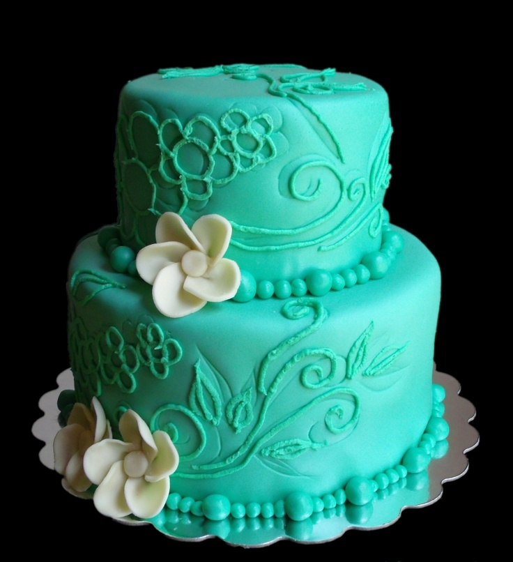 193 best Tiffany blue cakes images on Pinterest Cake wedding
