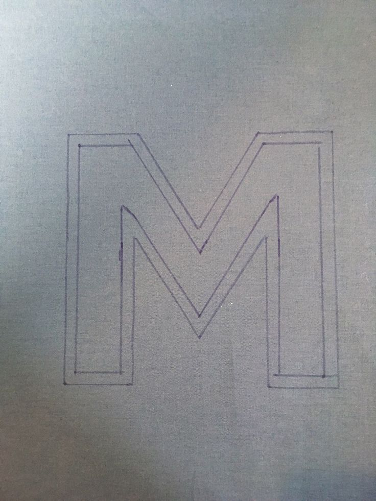 Reverse Appliqué Monogram Tutorial | Sew Mama Sew | Outstanding sewing, quilting, and needlework tutorials since 2005.