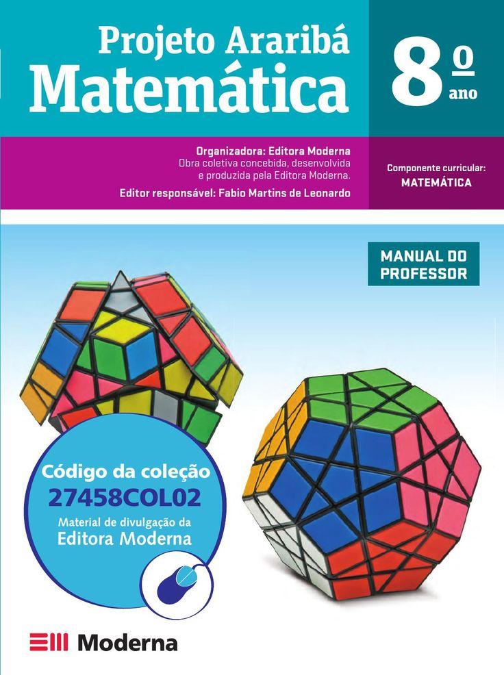 Projeto Araribá Matemática 8º ano - Editora Moderna - PNLD 2014