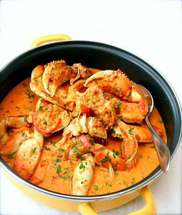 Crab Panang Curry: Panang Curries, Asian Food, Dinners Recipe, Elra Cooking, Seafood, Sea Food, Crabs Curries, Curries Recipe, Crabs Panang