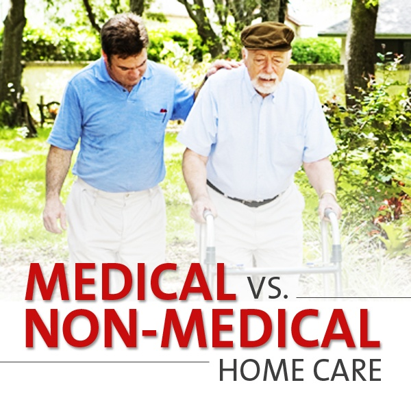 Do you know the difference between medical and non-medical home care?