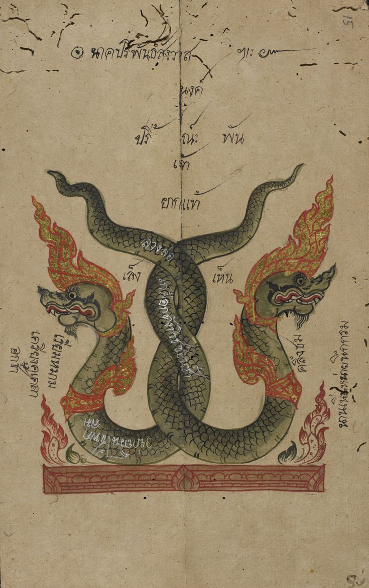 Konlabot, Thai poetry http://www.bl.uk/collection-items/animal-tales-thai-mythical-water-serpents