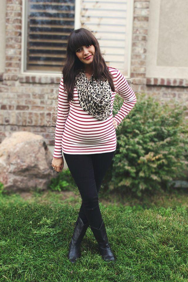 Dearest Lou: Stripes, leopard print, and cowboy boots