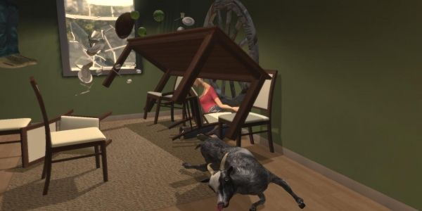 Goat Simulator 11 patch notes promise addition of even moregoats - One of the worst things that could happen in Goat Simulator is for there to be too few goats. The new Goat Simulator 1.1 update will preemptively strike against this terror with