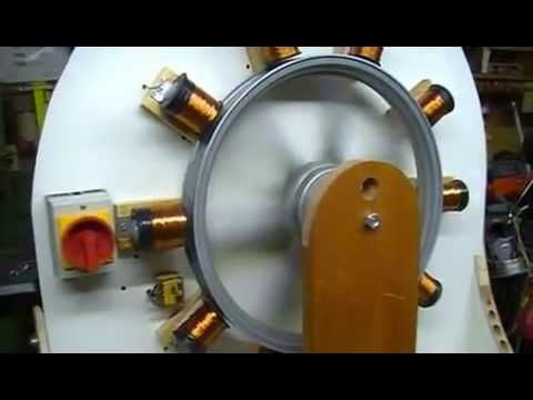 Free Energy Bedini Wheel Generator 1  พลังงานฟรี กงล้อ เบนดินี่ ผลิตไฟฟ้าได้จริง - YouTube
