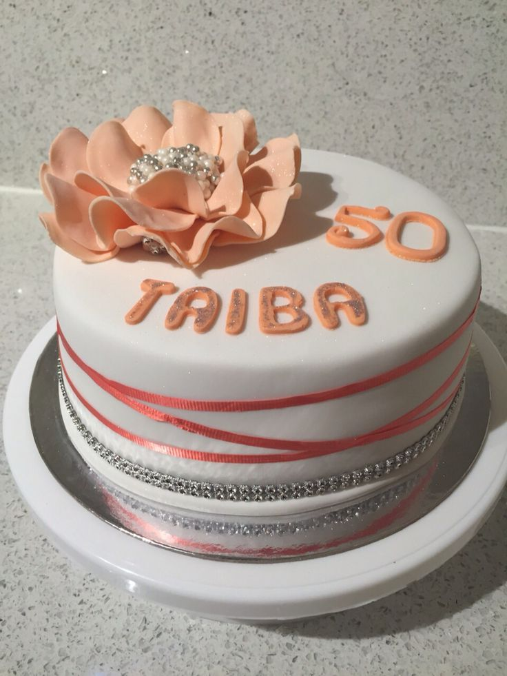 Flower cake for my aunty