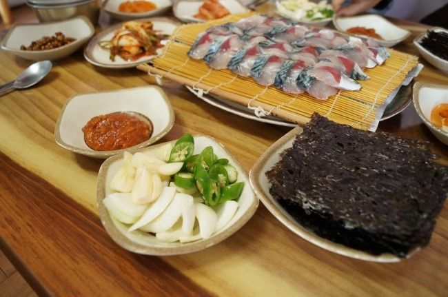 [서귀포 맛집] 산이물 식당 - 고등어회 / 장어구이 / 매운탕