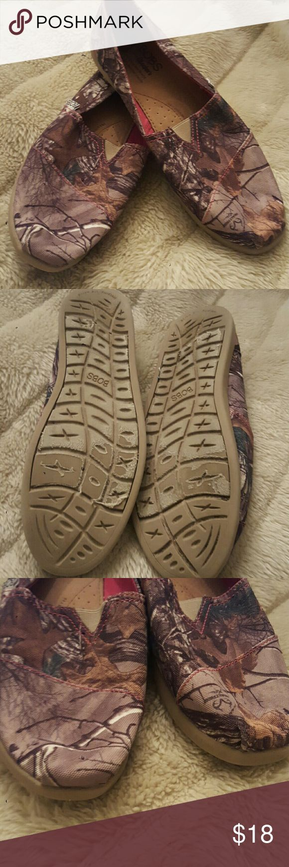 Bob shoes women's shoes Worn 1 time women's size 10 bobs Shoes Flats & Loafers