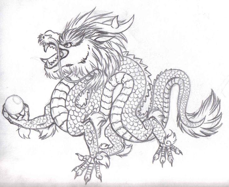 Mejores 12 imágenes de Dragon en Pinterest | Dragones, Dibujos de ...