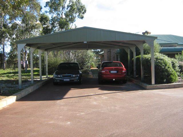 Double Carport Kit #DoubleCarport #CarportKit http://www.garagewholesalers.com.au/products/carportkits.aspx