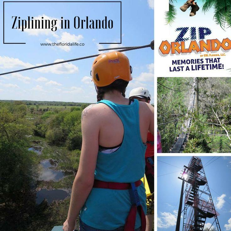 Ziplining in Kissimmee, Florida